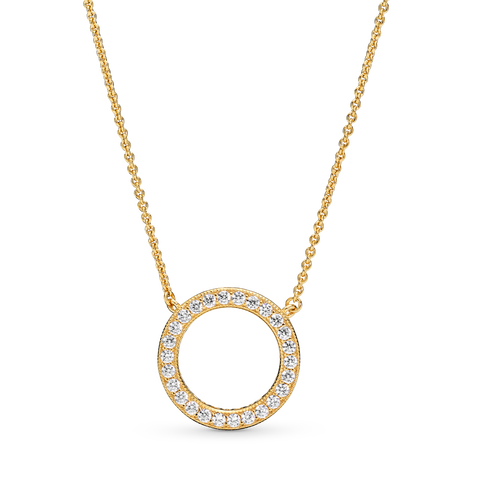 Circle of Sparkle Ketting