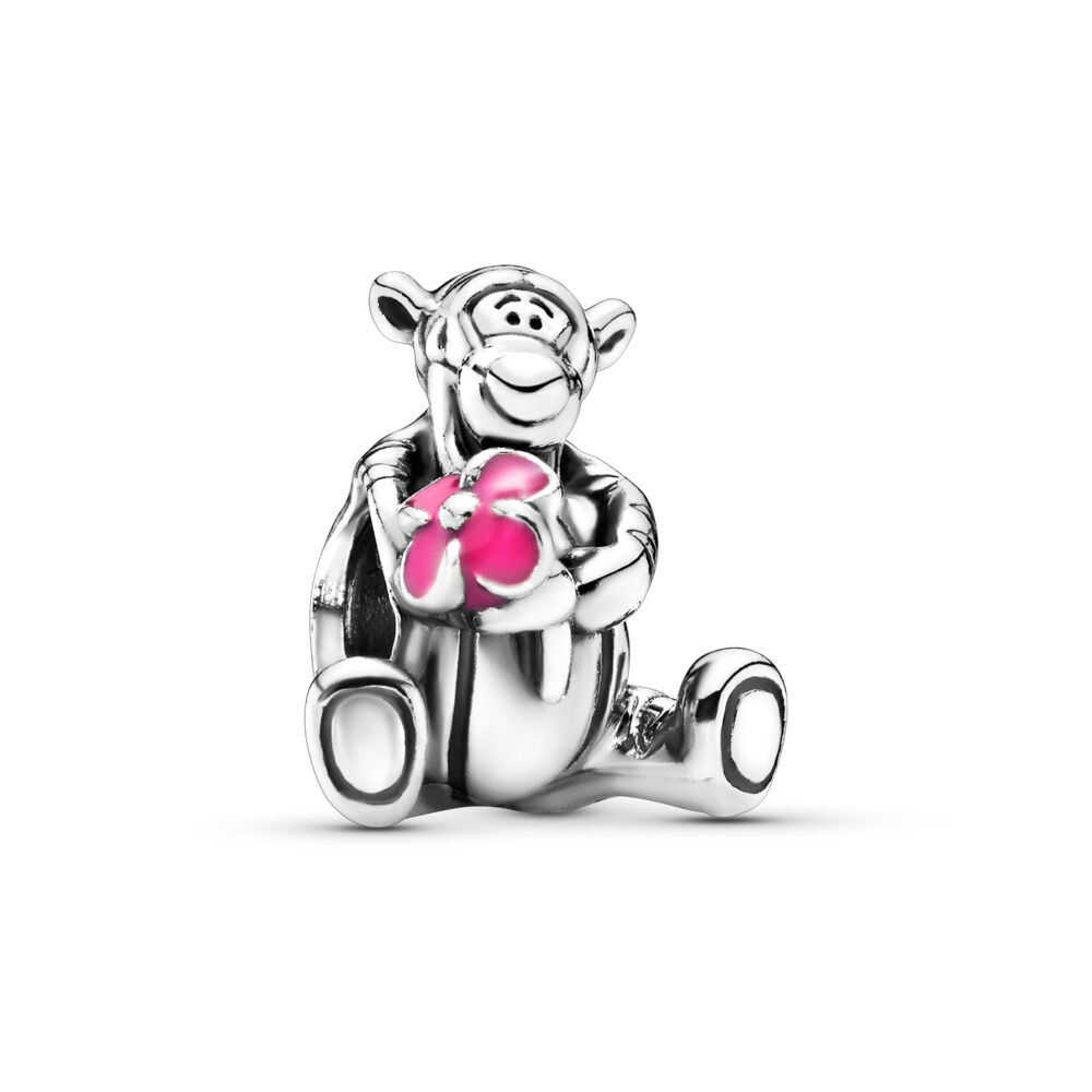 d2d76f7e9 Disney, Tigger Winnie the Pooh Charm, Sterling zilver, Emaille, R
