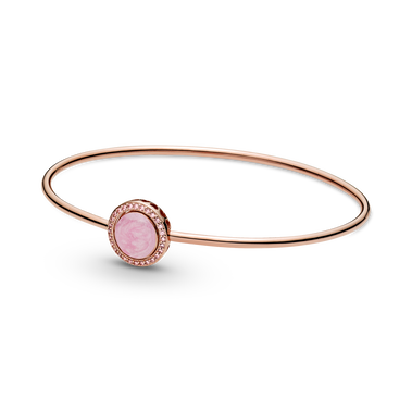Pink Swirl Bangle