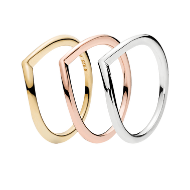 Wishbone Ring Gift Set