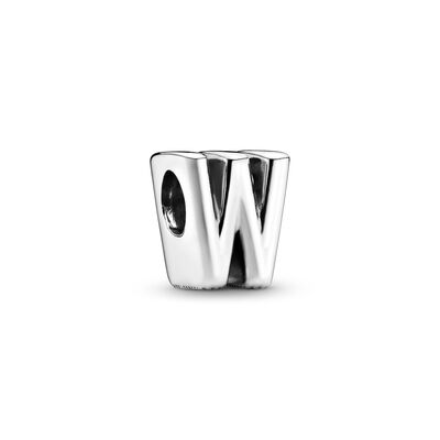 Letter W Charm