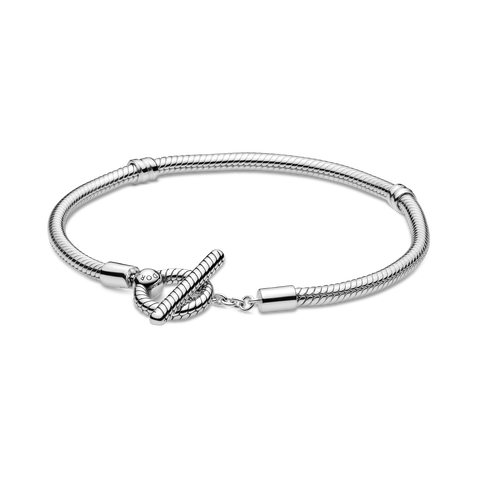 Pandora Moments T-Bar Slangenschakel-armband