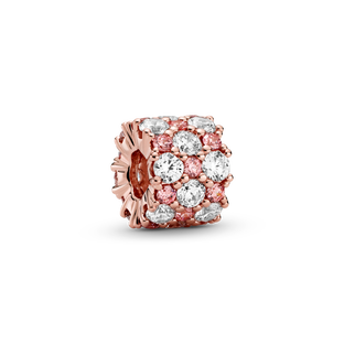 Pink & Clear Sparkle Bedel