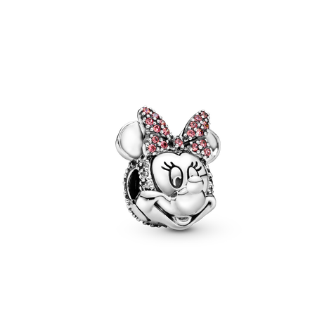 Disney Minnie Mouse Pink Pavé Bow Clip Bedel