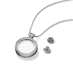 Medaillonset Floating Locket - PANDORA - #B801088-60