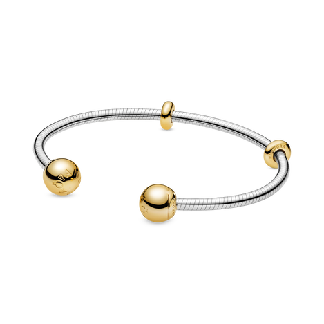 Pandora Moments Snake Chain-Stijl Open Bangle