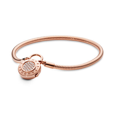 Moments Smooth PANDORA Rose Armband, Signature Sluiting