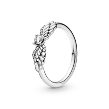 Sparkling Angel Wings Ring