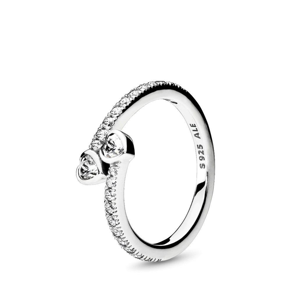 Ring forever hearts