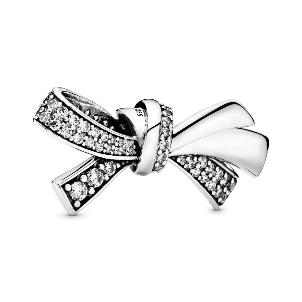 Brilliant Bow Charm