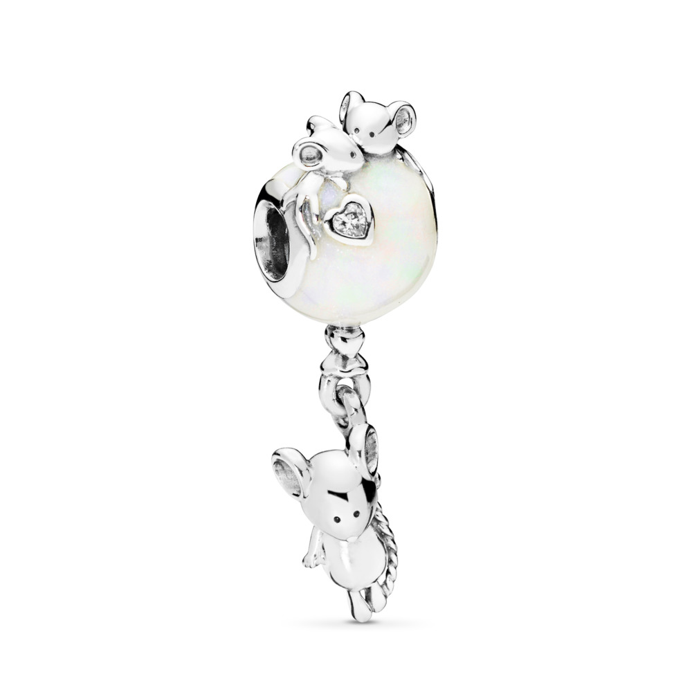 Mouse & Balloon Charm