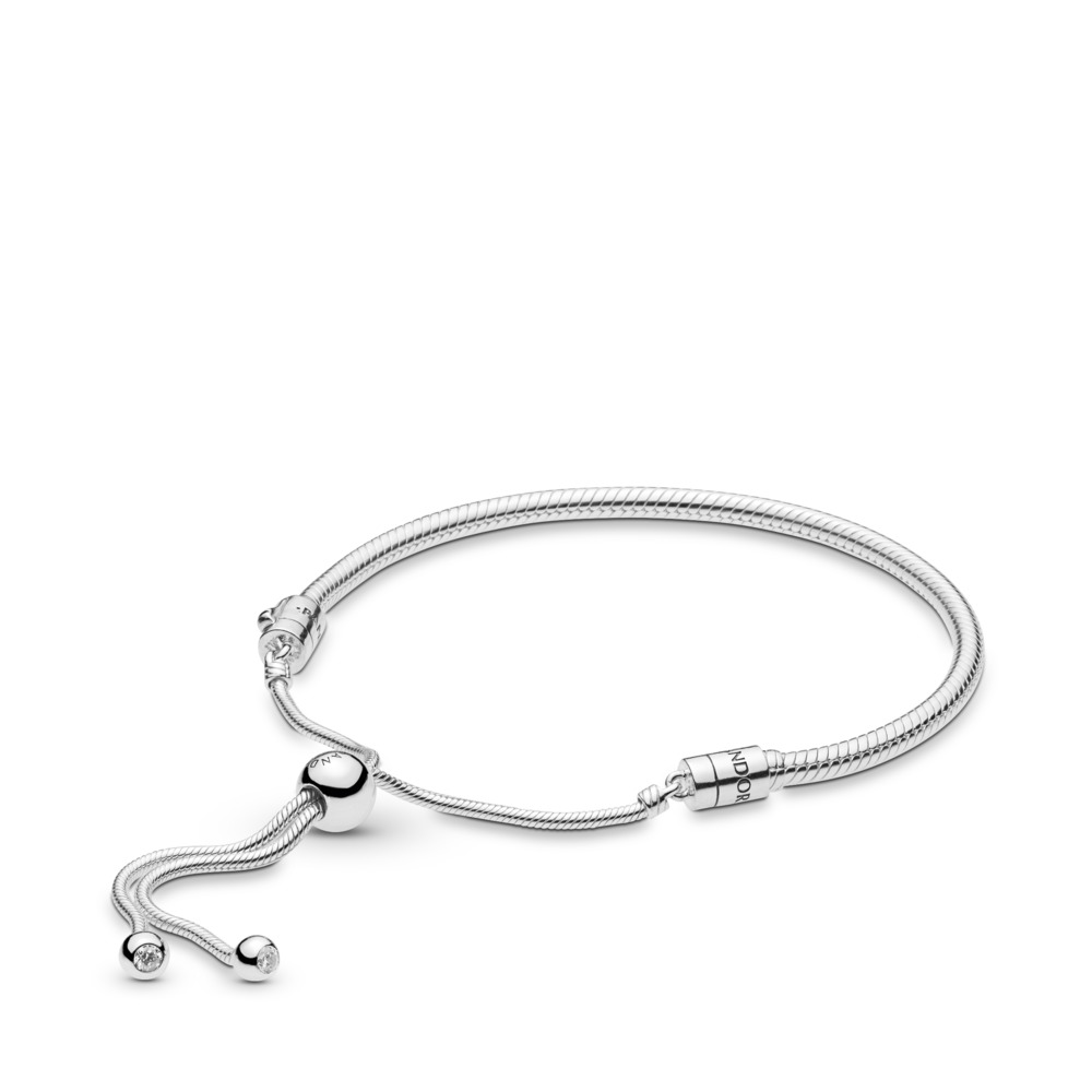 Moments Silver Sliding Armband